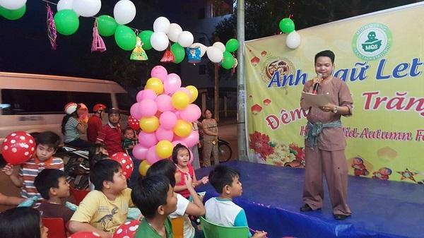 lễ hội trung thu tại let's Talk Biên Hòa