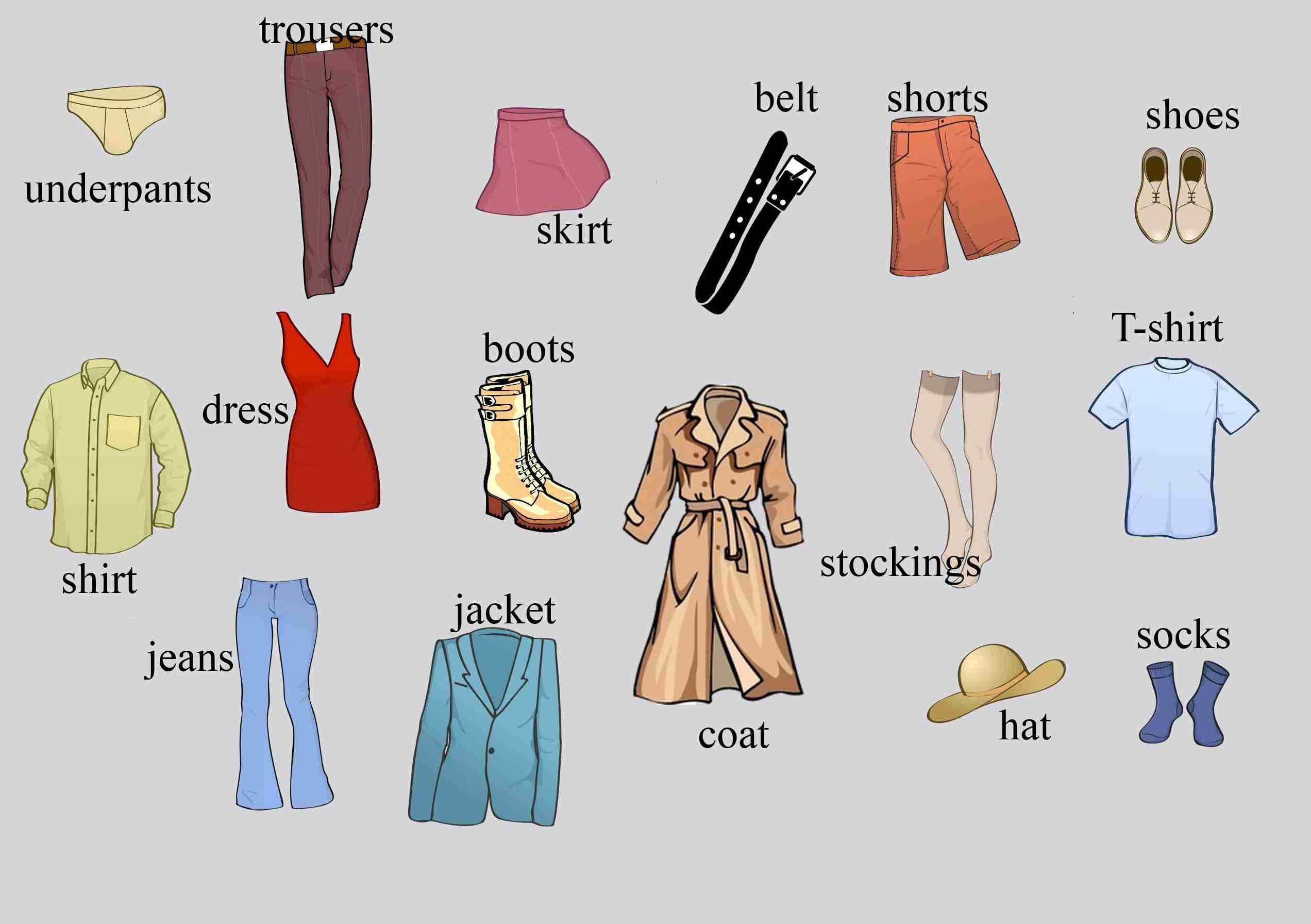 Đồng phục trong tiếng Anh