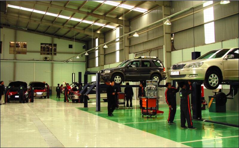 xưởng sữa chữa ô tô